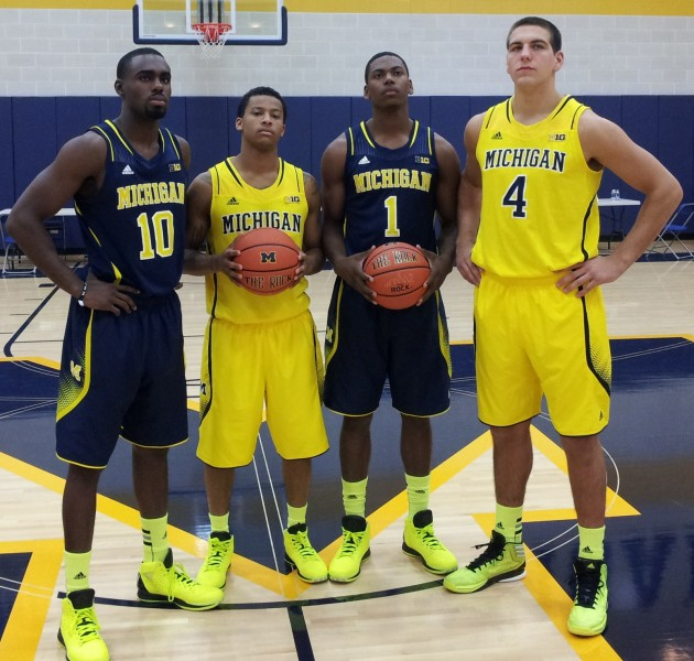 L-to-R: Hardaway, Burke, Robinson, McGary. Photo Courtesy of iSportsWeb.